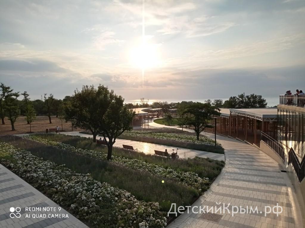 Учкуевка парк 2